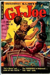 G.I.Joe #431 1954-Ziff-Davis-fight the commies-Yardbirds-De Carlo-VG+