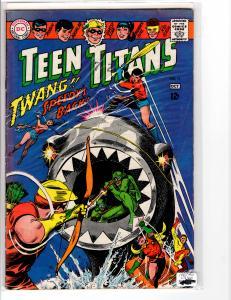 Teen Titans (1966) 11 Fine+ (6.5)