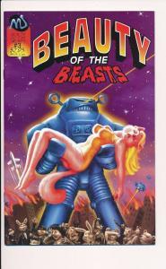 Beauty of the Beasts #3 1992 MU Comics ~VF  (HX195)