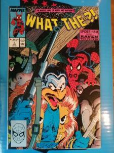 What The? #3 Marvel Comics/ Spider-Ham vs Raven the Hunter (1988)