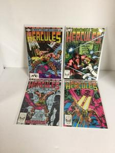 Hercules Prince Of Power 1 2 3 4 Complete Lot Set Run Vf Very Fine 8.0 Or Better