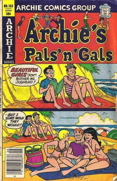 Archie's Pals 'N' Gals #153, VF+ (Stock photo)