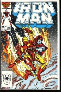 Iron Man #216 (1987)