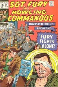 Sgt. Fury #89, Fine (Stock photo)