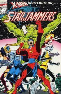 X-Men Spotlight On…Starjammers #1 VF; Marvel   save on shipping - details inside