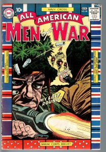 ALL AMERICAN MEN OF WAR #80-1960-WWII-DC-SILVER AGE VG