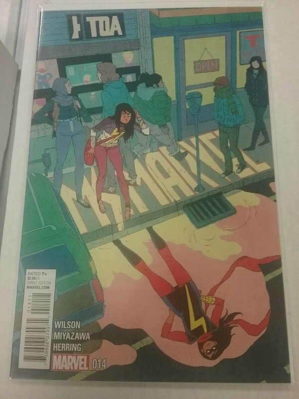 Ms. Marvel #14(2015) NM Marvel Comics NW61