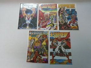 Supreme Image Comics From: #1-15 10 Different Books 8.0 VF (1993)