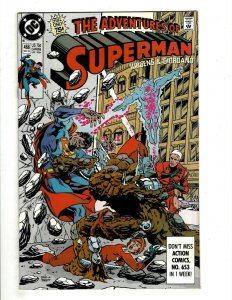 15 Adventures of Superman DC Comics 466 467 468 469 470 471 472 473 475 + HG1
