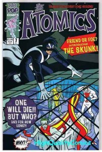 ATOMICS #7, NM+, Mike Allred, Madman, 2000, more Allred in store