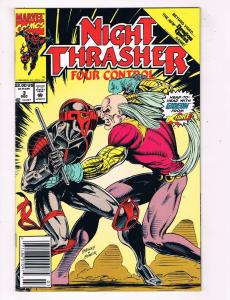 Night Thrasher Four Control #3 Marvel Comic Book Gideon X-Force Ltd Series HH1
