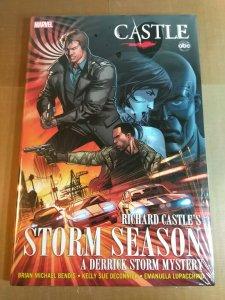 Marvel Comics Castle: Richard Castle's Storm Season by Bendis (Hardcover 2012)