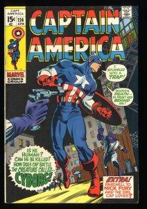 Captain America #124 FN/VF 7.0