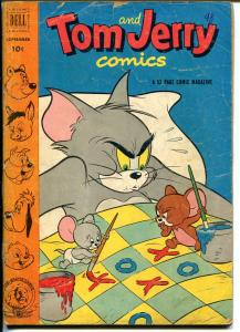 Tom & Jerry #98 1952-Dell-MGM Cartoons-Barney Bear-Tuffy-Preacher Roe-G