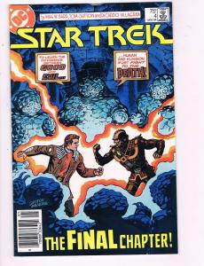 Star Trek #4 VF DC TV Movie Comic Book Spock 1987 DE7