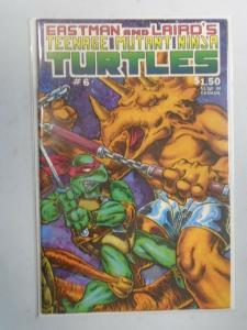 Teenage Mutant Ninja Turtles #6 (1986) 6.0 FN