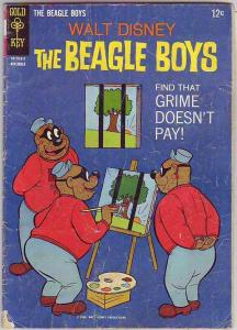 Beagle Boys, Walt Disney's #4 (Nov-66) VG Affordable-Grade Uncle Scrooge