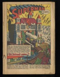 Superman #47 Coverless Copy