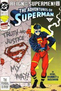 Adventures of Superman (1987 series) #501, VF (Stock photo)