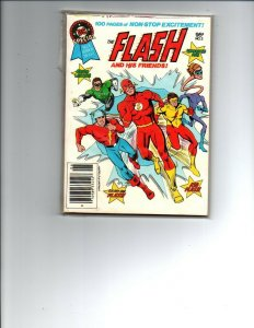 The Flash and his Friends #2 - DC Blue Ribbon Digest - 1981 - (-Near Mint)
