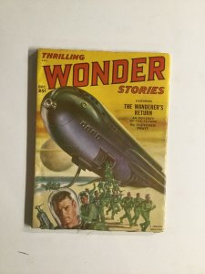 Thrilling Wonder Stories 2 1951 Very Good Vg 4.0 Standard Magazine