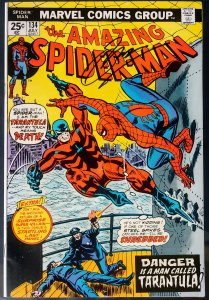 ASM #134, SS Conway, 2ND APP of PUNISHER & 1ST APP of TARANTULA