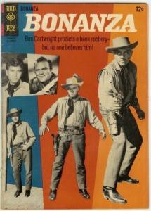 BONANZA (1962-1970 GOLD KEY) 17 VG Dan Blocker - Lorne COMICS BOOK