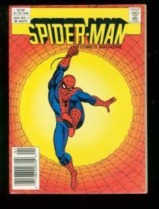 SPIDER-MAN COMICS MAGAZINE #1 1987 DIGEST VF