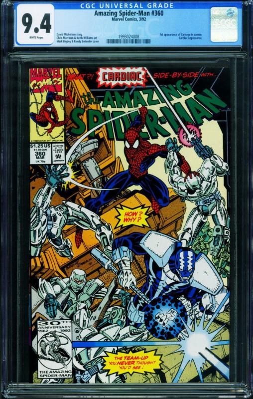 COMIC SPIDER-MAN    # 25 1992-9.4