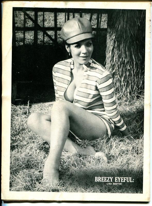 Joker 11/1970-Humorama-Bill Ward-cheesecake-Raquel Welch-Eve Eden-G