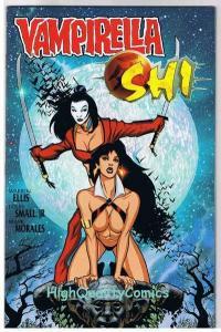 VAMPIRELLA SHI #1, NM, Vampire,Femme, Warren Ellis, 1997