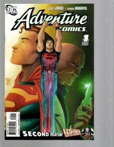 12 DC Adventure Comics #1 2 3 4 5 6 7 8 9 10 12 plus #518 J438