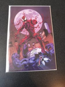ABSOLUTE CARNAGE #1 MARK BAGLEY VIRGIN VARIANT WITH COA! ONLY 500 PRODUCED!