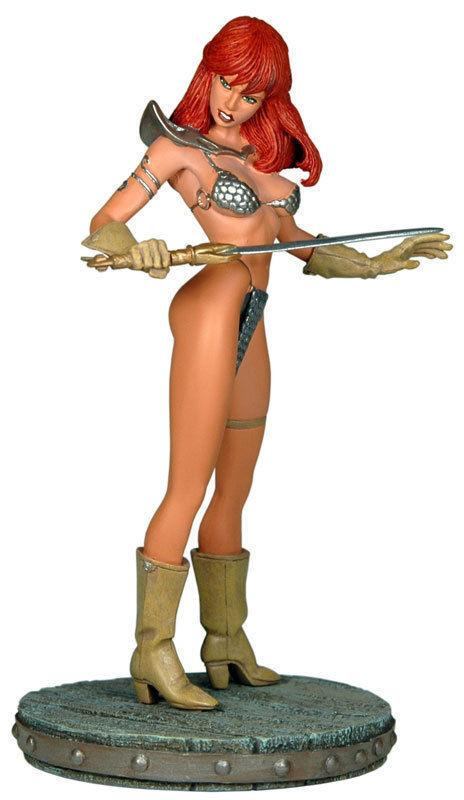 RED SONJA Statue, Joseph Linsner, Tom / Joy Snyder, 2007, MIB, more RS in store