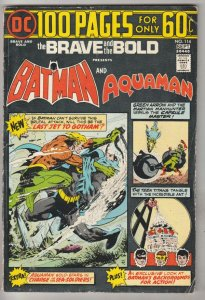 Brave and the Bold, The #114 (Sep-74) FN/VF Mid-High-Grade Batman, Aquaman