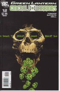 Green Lantern: Emerald Warriors #12 VF; DC   save on shipping - details inside