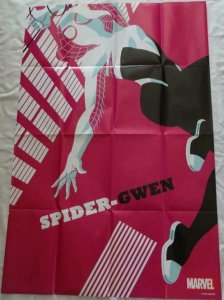 SPIDER-GWEN Promo Poster, 24 x 36, 2016, MARVEL,  Unused more in our store 173