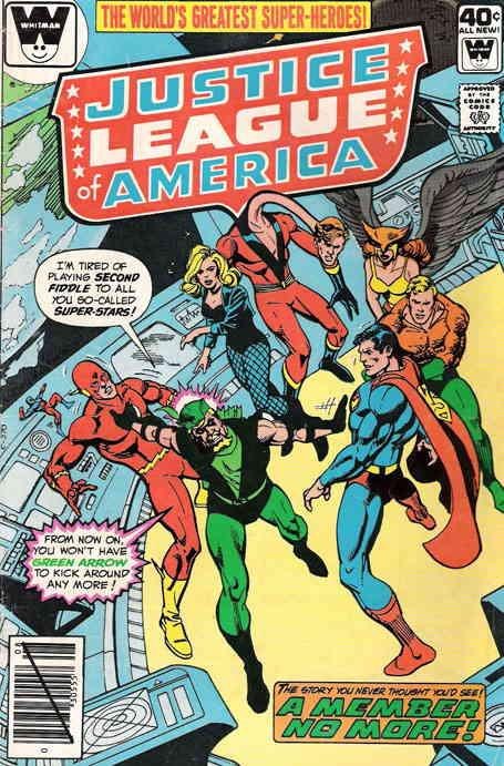 Justice League of America #181A VG; DC | low grade comic - save on shipping - de