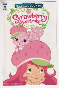 Strawberry Shortcake IDW Unstamped NM- FCBD 2016