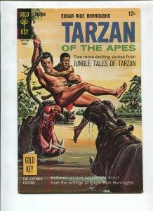 TARZAN #170 1967-GOLD KEY-EDGAR RICE BURROUGHS-VF