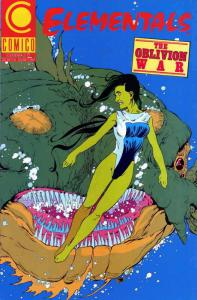 Elementals (Vol. 2) #13 VF/NM; COMICO | save on shipping - details inside