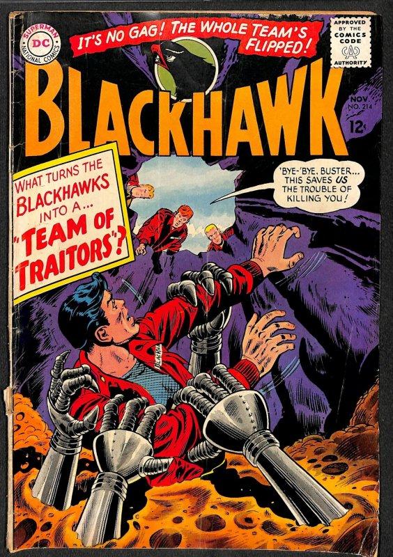 Blackhawk #214 (1965)