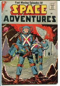 Space Adventures #24 1958-Charlton-Steve Ditko-Iron Man type story-Severin-FN+