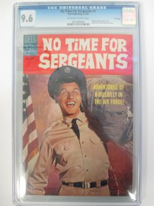 No Time For Sergeants #1 CGC 9.6 NM+ Dell Publishing - 1965 File Copy