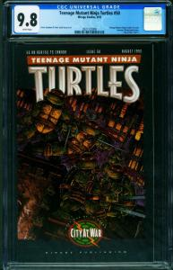 TEENAGE MUTANT NINJA TURTLES #50 CGC 9.8 -1992-2021122008