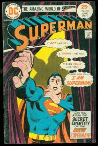 SUPERMAN #288 1975-DC COMICS- G/VG