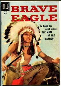 Brave Eagle-Four Color Comics #705 1956-Dell-Keith Larsen-TV-FN