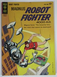 MAGNUS  ROBOT FIGHTER  5 (Gold Key, 2/1964) GOOD (G) COMICS BOOK