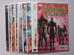 Alpha Flight (2004 3rd Series) #1-9 - 8.0 VF - 2004