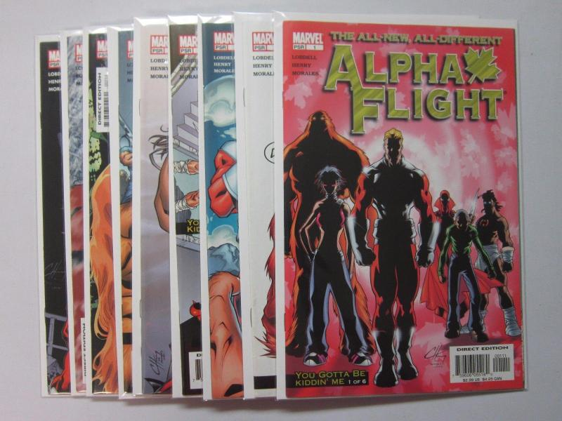 Alpha Flight (2004 3rd Series) #1-9 - 8.0 VF - 2004